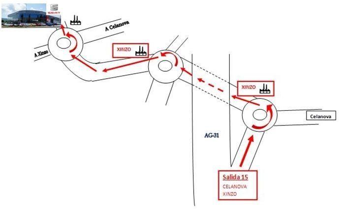 Nuevo Acceso por Autovía AG31