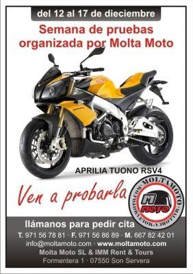 PRUEBA APRILIA TUONO RSV4