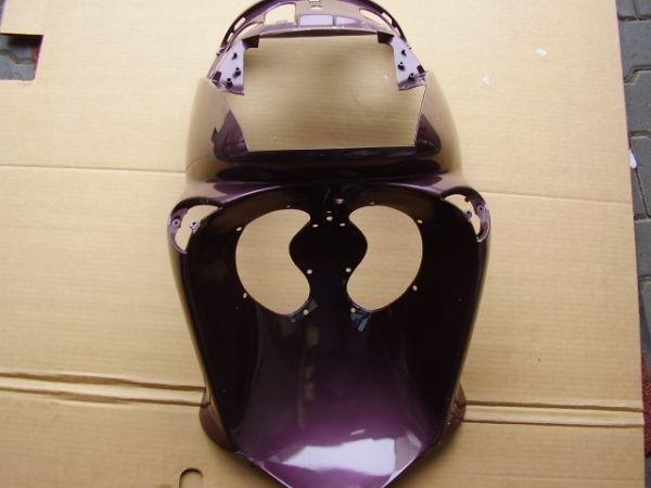 Escudo frontal violeta Aprilia Leonardo - Ref. AP8139823