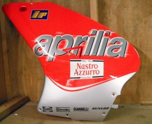 Carenado izquierdo rojo/gris Aprilia RS50 2000 - Ref. AP8248793