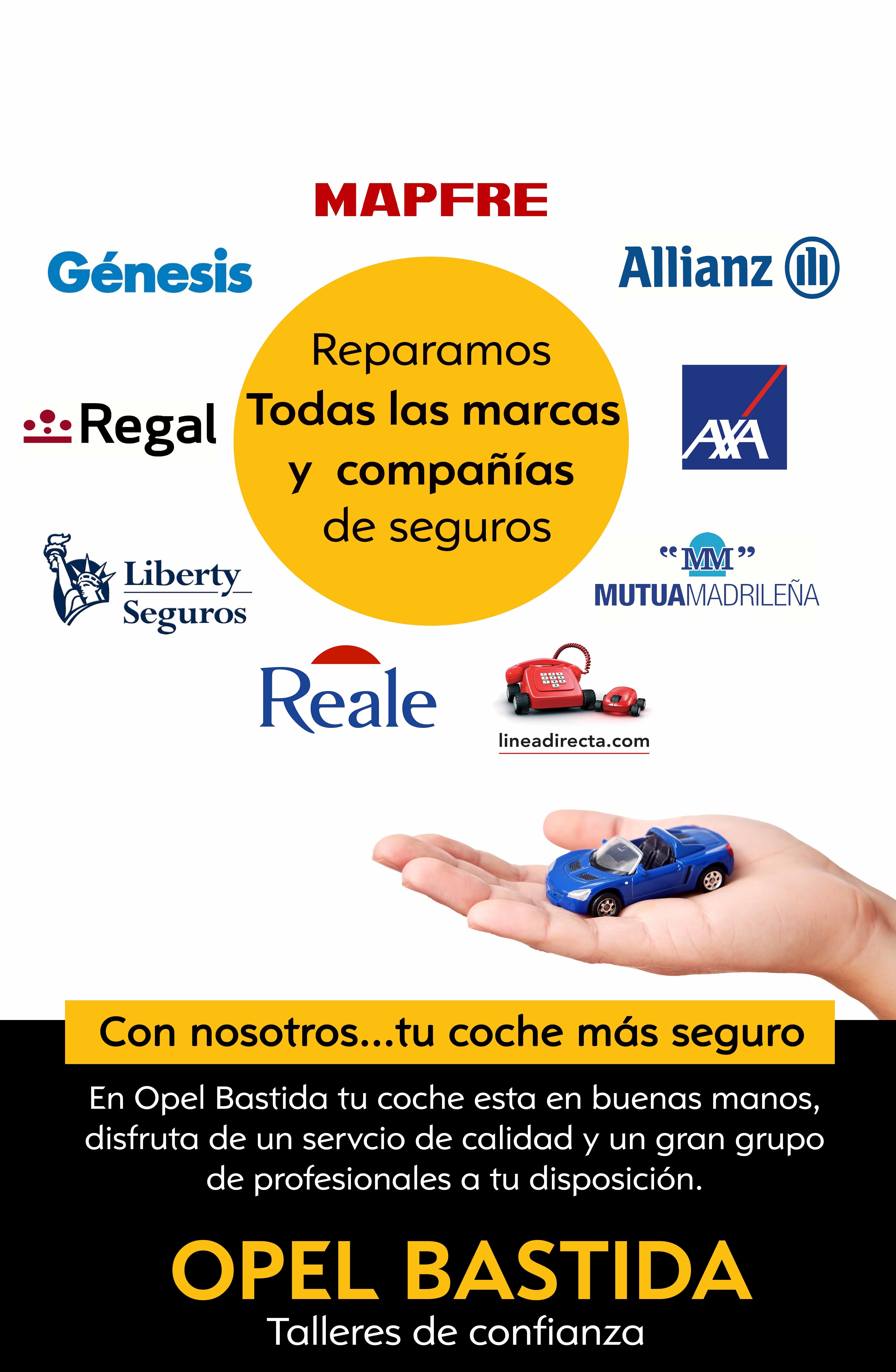 TALLER DE CHAPA Y PINTURA-Todas las compañias