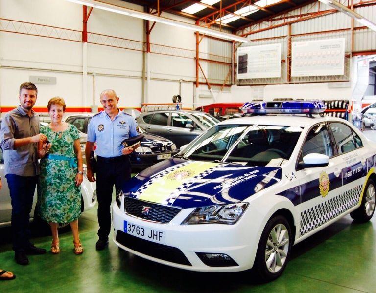 LA POLICIA MUNICIPAL DEL PUIG YA DISFRUTA DE SU NUEVO TOLEDO