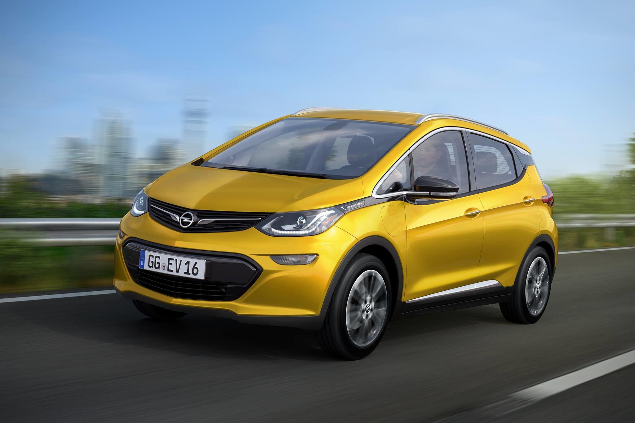 OPEL AMPERA-e. El cotxe elèctric d'Opel pel 2017