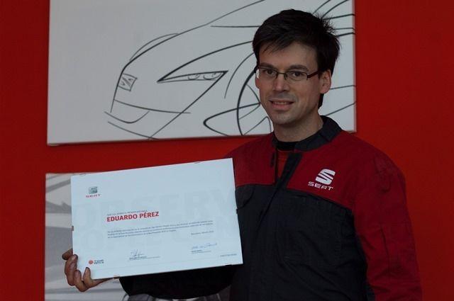 Eduardo Pérez consiguió la quinta posición en la 15ª Edición del Top Service People