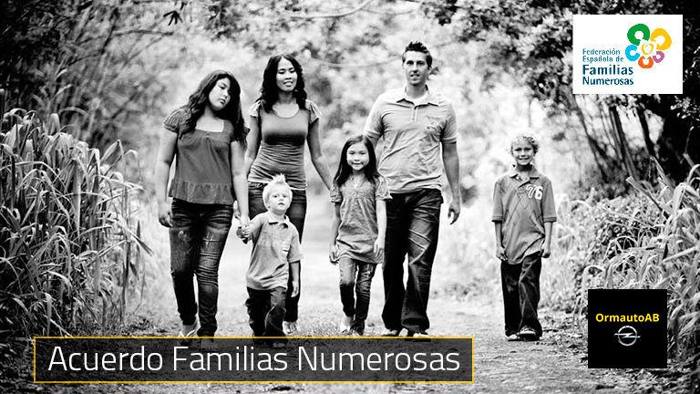 Ven a OrmautoAB Opel y Descubre Todas las Ventajas por ser Familia Numerosa