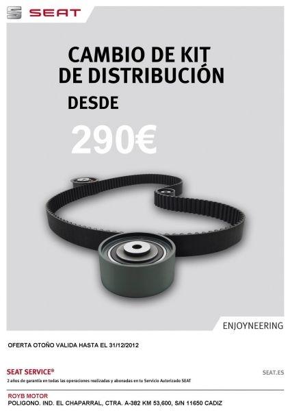 Cambio de Kit de Distribucion desde 290 €