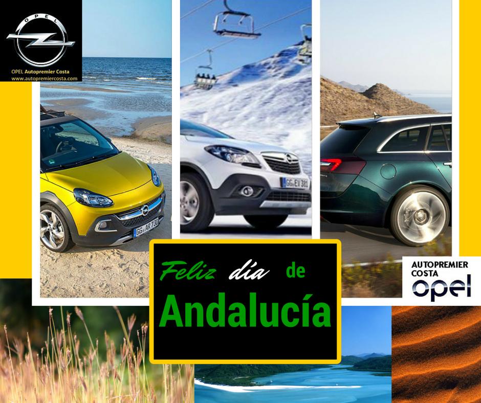 Disfruta del Día de Andalucía con Opel