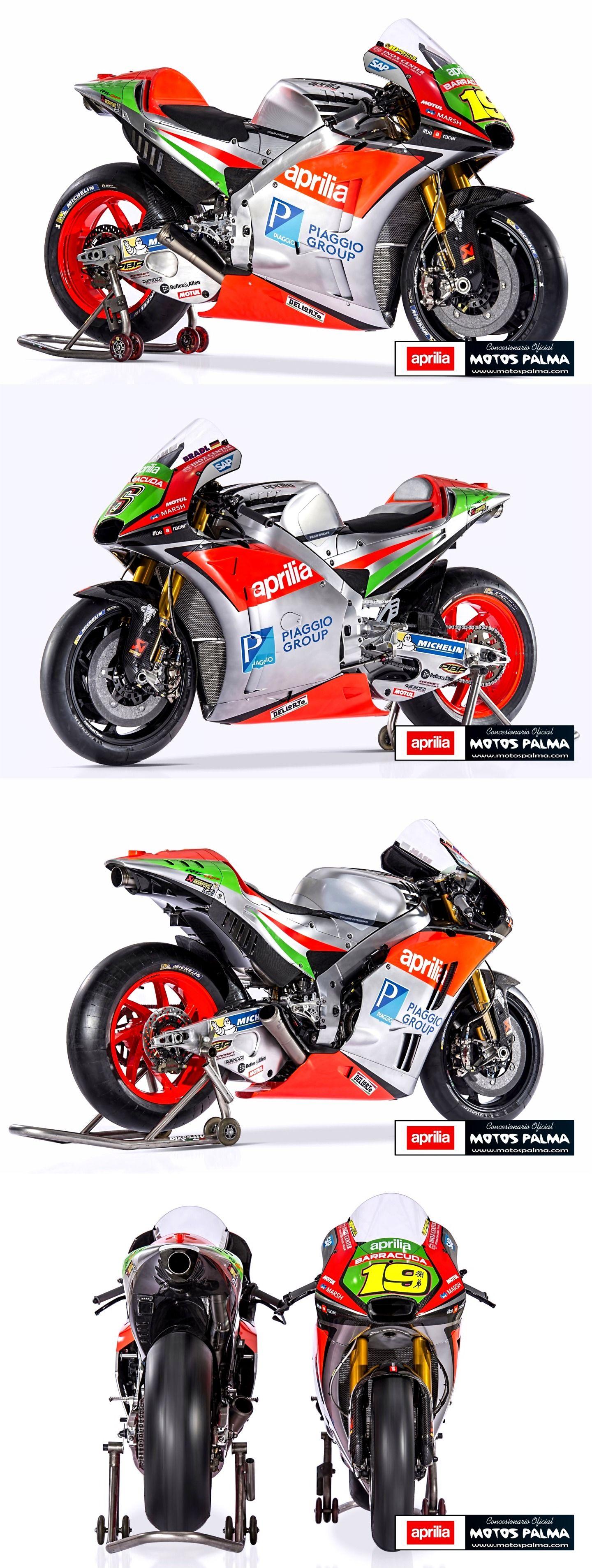 Así es la nueva Aprilia RS-GP 2016