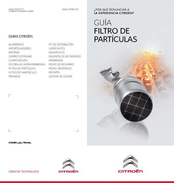 EL FILTRO DE PARTICULAS (FAP)