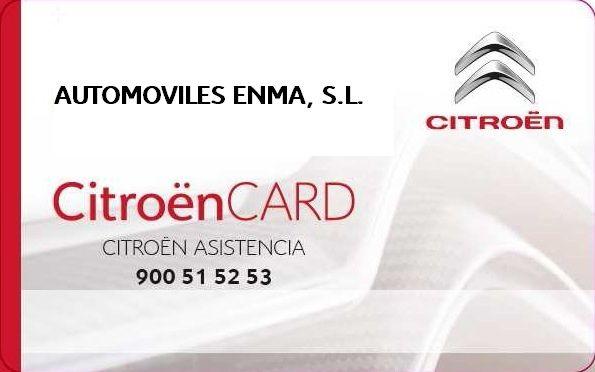 TARJETA CitroënCARD