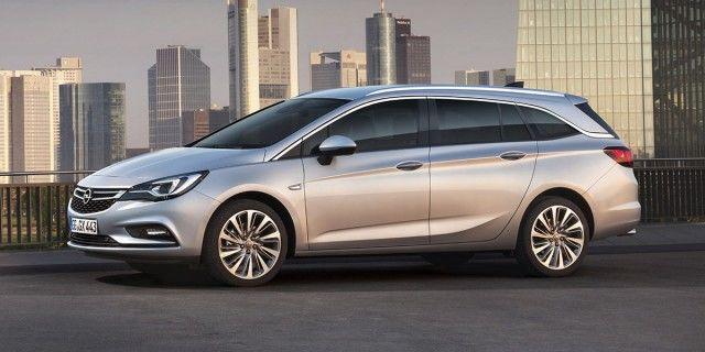 Opel lanzará en primavera la versión familiar del nuevo Astra
