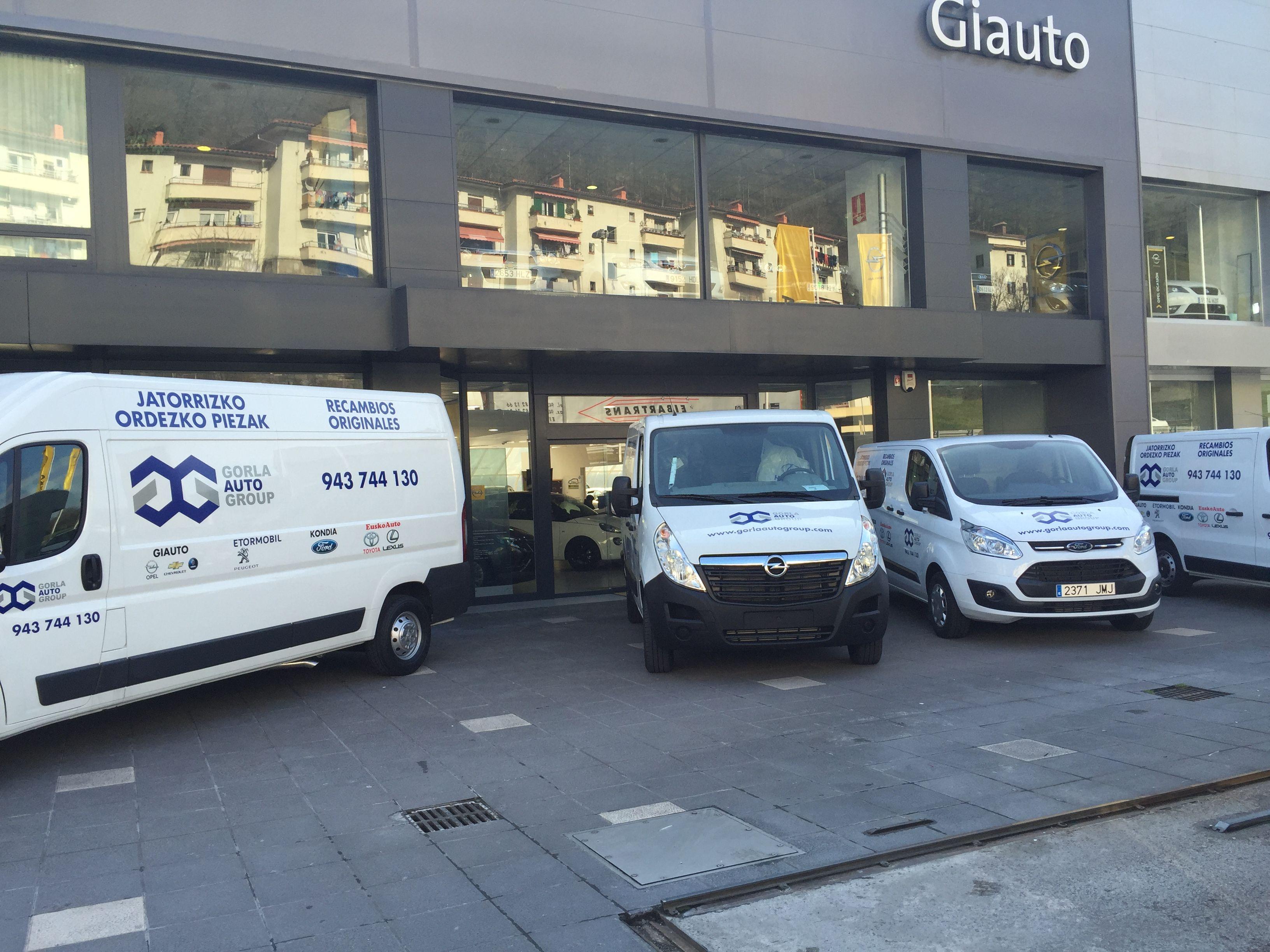 Estrenamos flota del departamento de recambios de Gorla Auto Group
