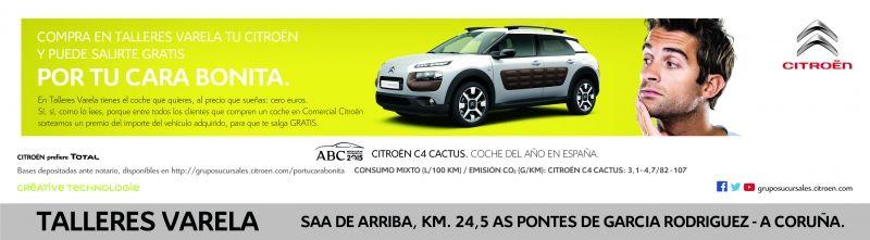 Compra aquí tu Citroën y puede salirte gratis por tu cara bonita