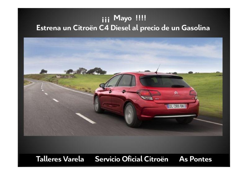 En Mayo estrana un C4 Diesel al precio de un Gasolina
