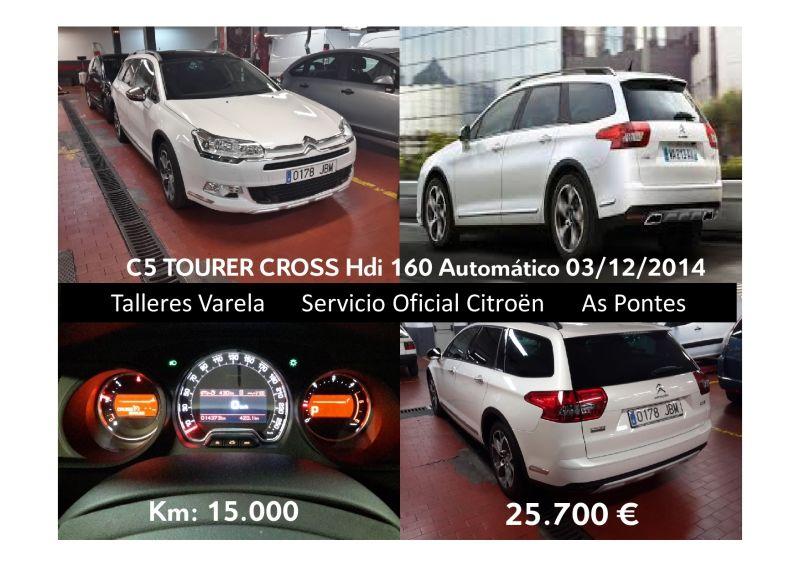 C5 Tourer Cross 160 HDi Automatico Blanco Nacarado