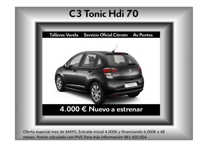 C3 Tonic Hdi 70 Negro Oferta MAYO