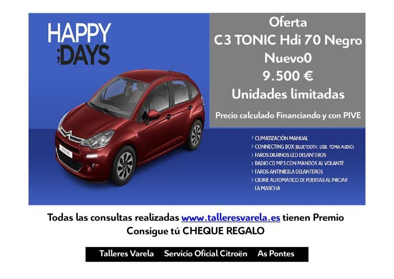 Oferta Nuevo C3 Tonic 70 HDi
