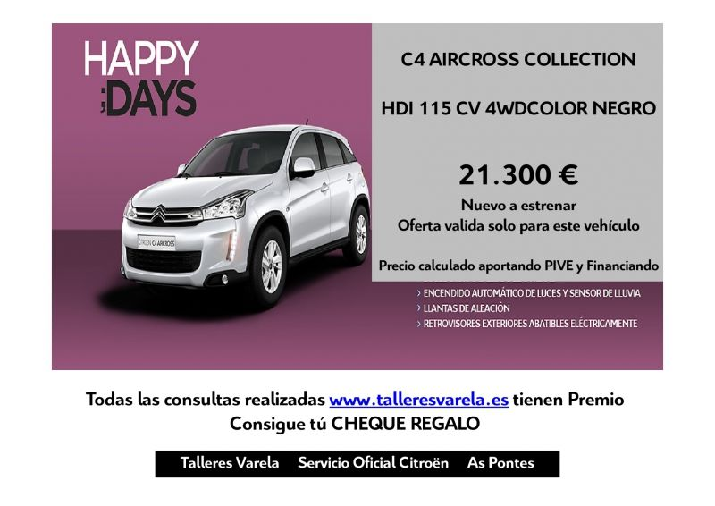 C4 AIRCROSS 115 HDI COLLECTION 4WD