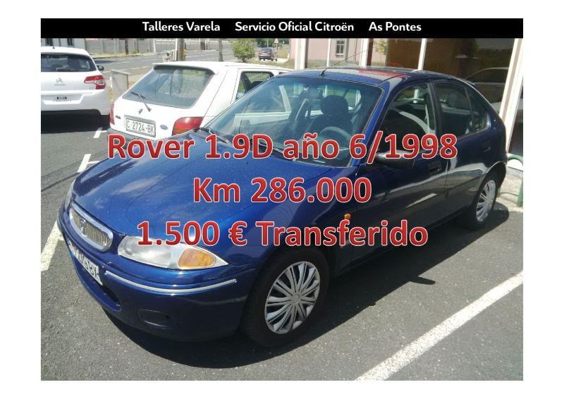 Oferta ocasion Rover 1.9D 5 puertas