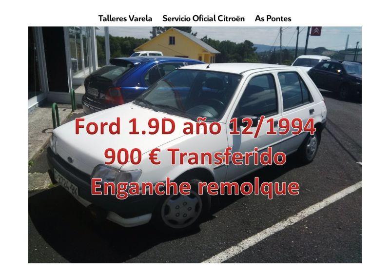 Oferta ocasion Ford Fiesta Diesel 5 puertas con enganche
