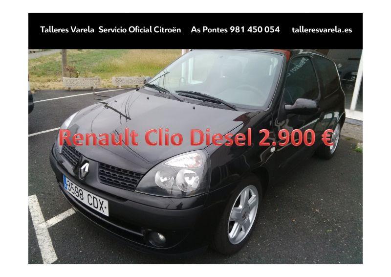 Oferta ocasion Renault Clio Diesel 2.900€