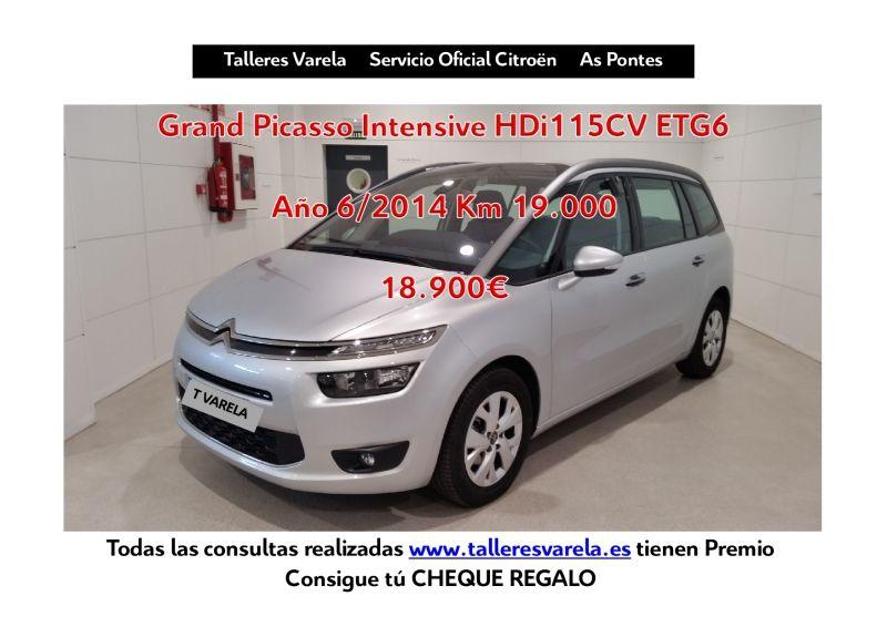 Oferta ocasion C4 Grand Picasso Intesive 115 HDi ETG6 18.900€