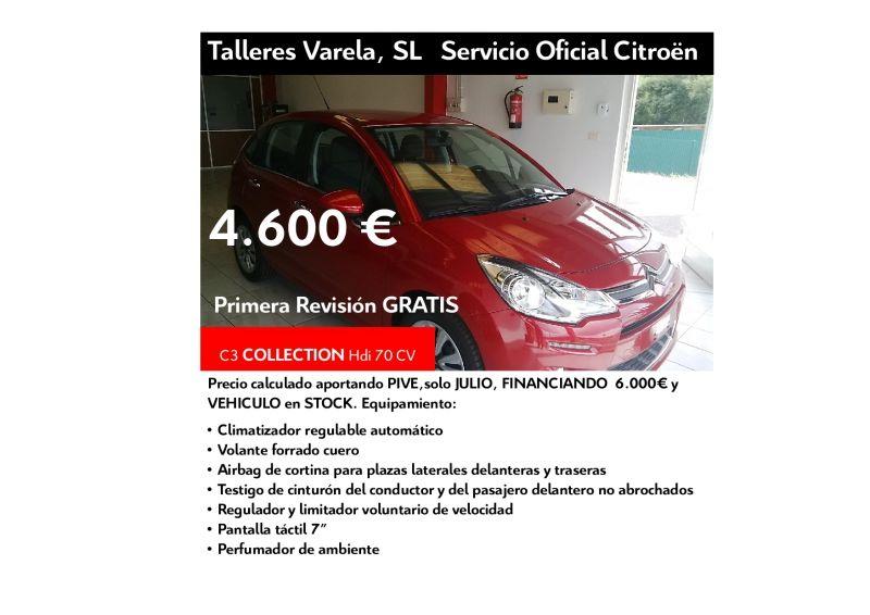 Oferta JULIO C3 HDI 70 Collection 4.600 € financiando 6.000€