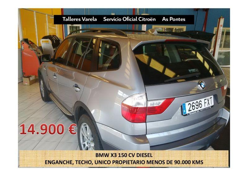 BMW X3 DIESEL 150CV 14.900€