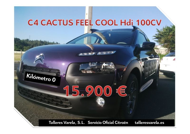 C4 Cactus Feel Cool Hdi 100 cv Km 0