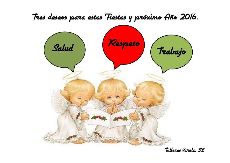 Felices Fiestas y Prospero Año Nuevo 2016