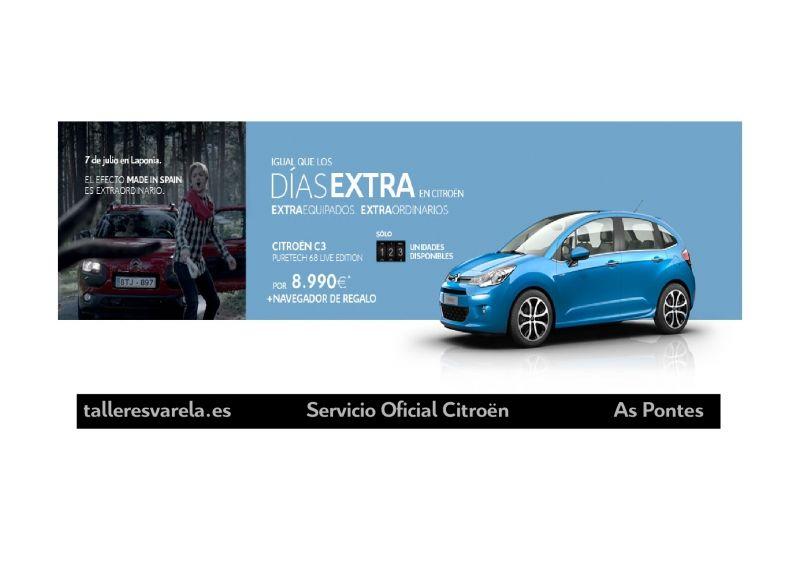 Citroën C3 Igual de los DIAS EXTRA en Citroën ExtraEquipados
