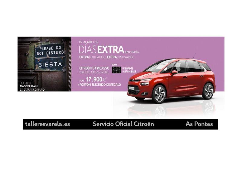 Citroën C4 Picasso Igual de los DIAS EXTRA en Citroën