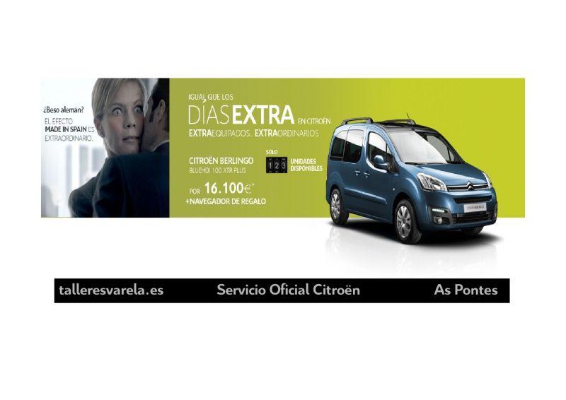 Citroën Berlingo Igual de los DIAS EXTRA en Citroën ExtraEquipados