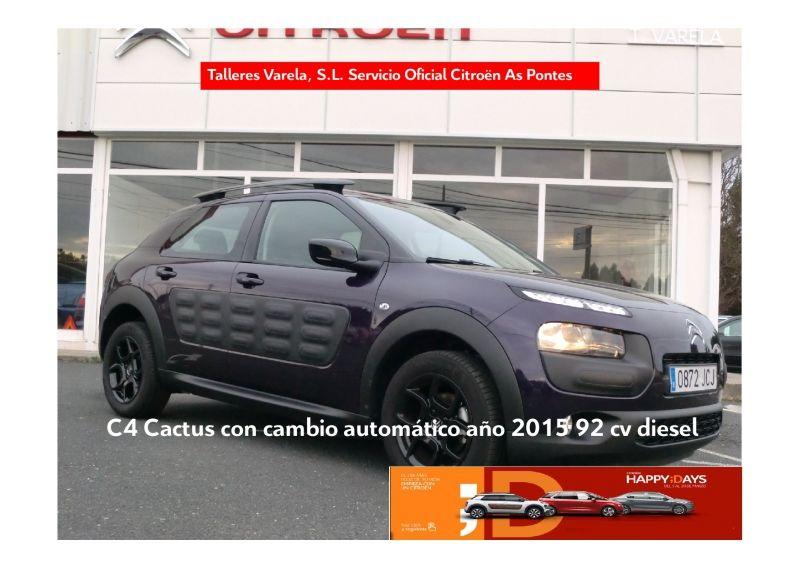 Ocasion C4 Cactus Feel Diesel 92 cv cambio automático 14.200€
