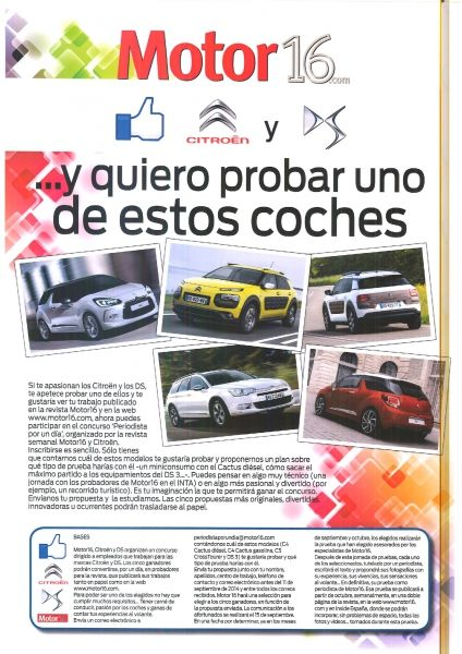 Campaña Motor16.com y Citroën