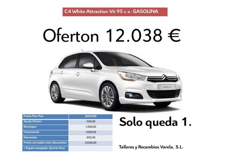 Ofertoooon C4 White Attraction Vti 95cv