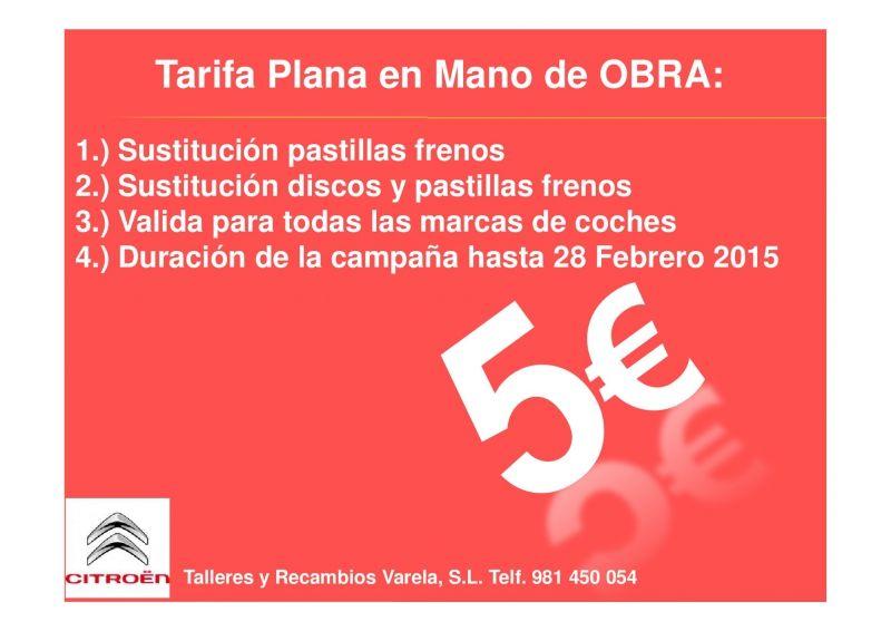 5€ Tarifa Plana de Seguridad.
