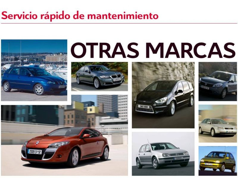 Servicio de mantenimiento rápido - OTRAS MARCAS