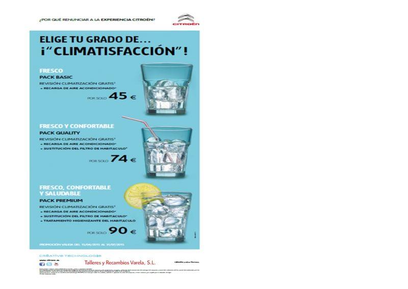 PLAN ACCIÓN COMERCIAL POSVENTA ABRIL 2015 CLIMATIZACION