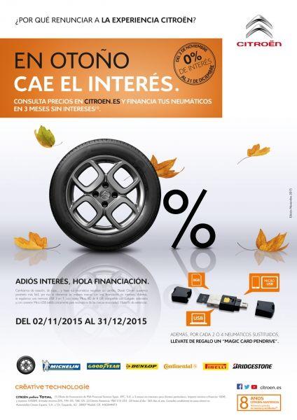 Financia tus neumáticos en 3 meses sin intereses.