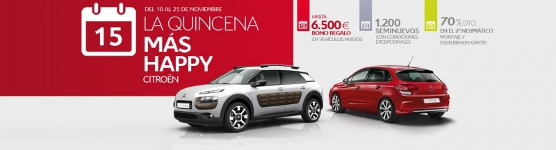LA QUINCENA MÁS HAPPY DE CITROËN