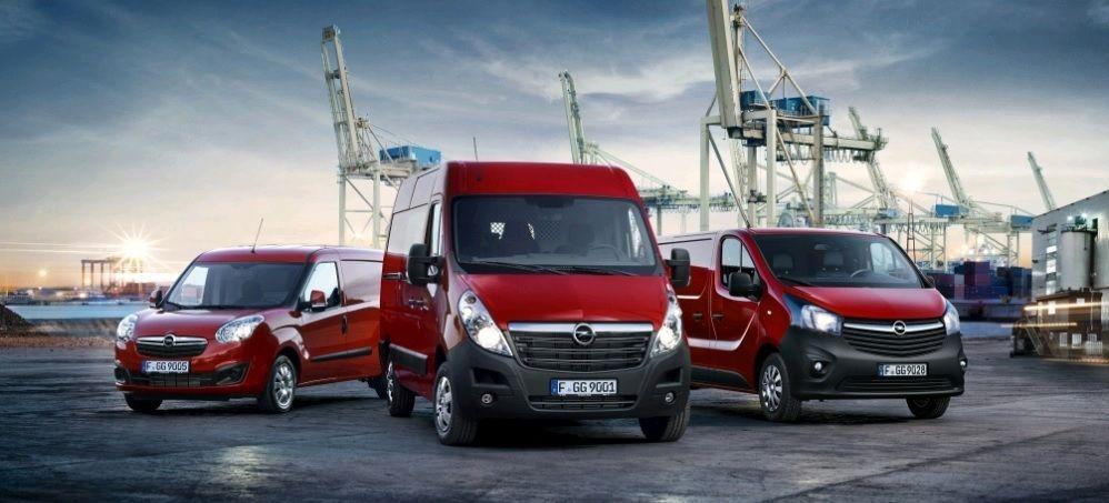Descubre la Gama de vehículos comerciales OPEL