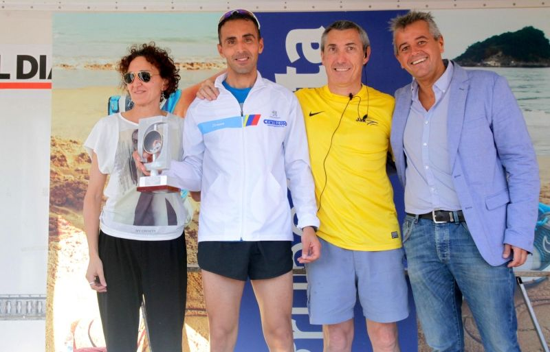 Kamel Ziani sube a Centrauto al podium del Cross Tres Playas