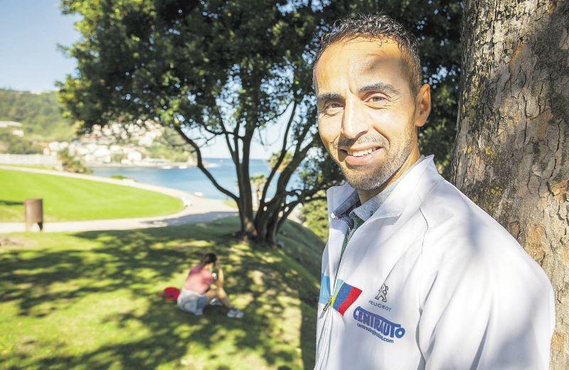 Kamel Ziani, entrevistado en EL DIARIO VASCO