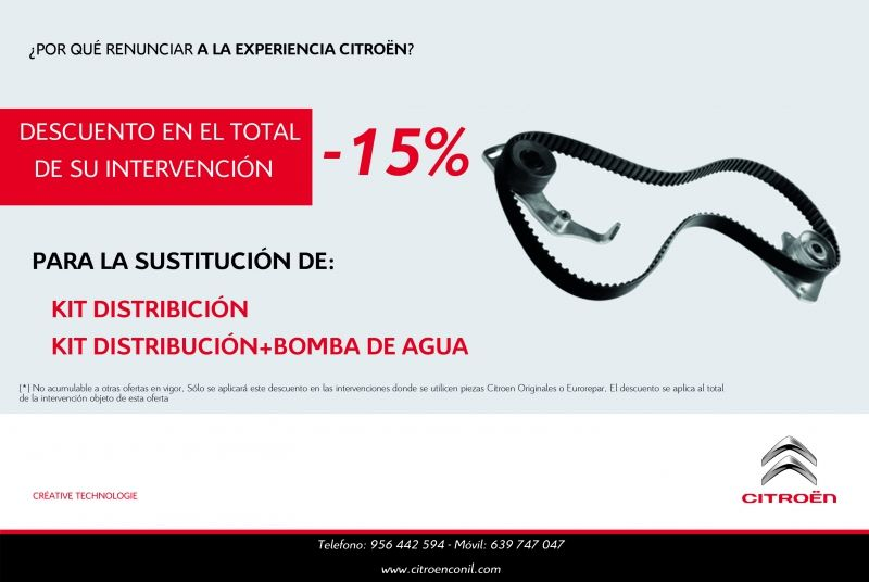 Descuento 15% - Kit Distribucion
