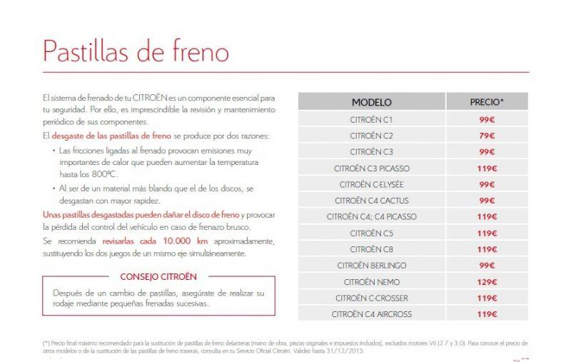 Os presentamos la GUIA DE PRECIOS CERRADOS DE CITROEN!!!!!!!!!!!!!!!!!!!!!!!!!!!