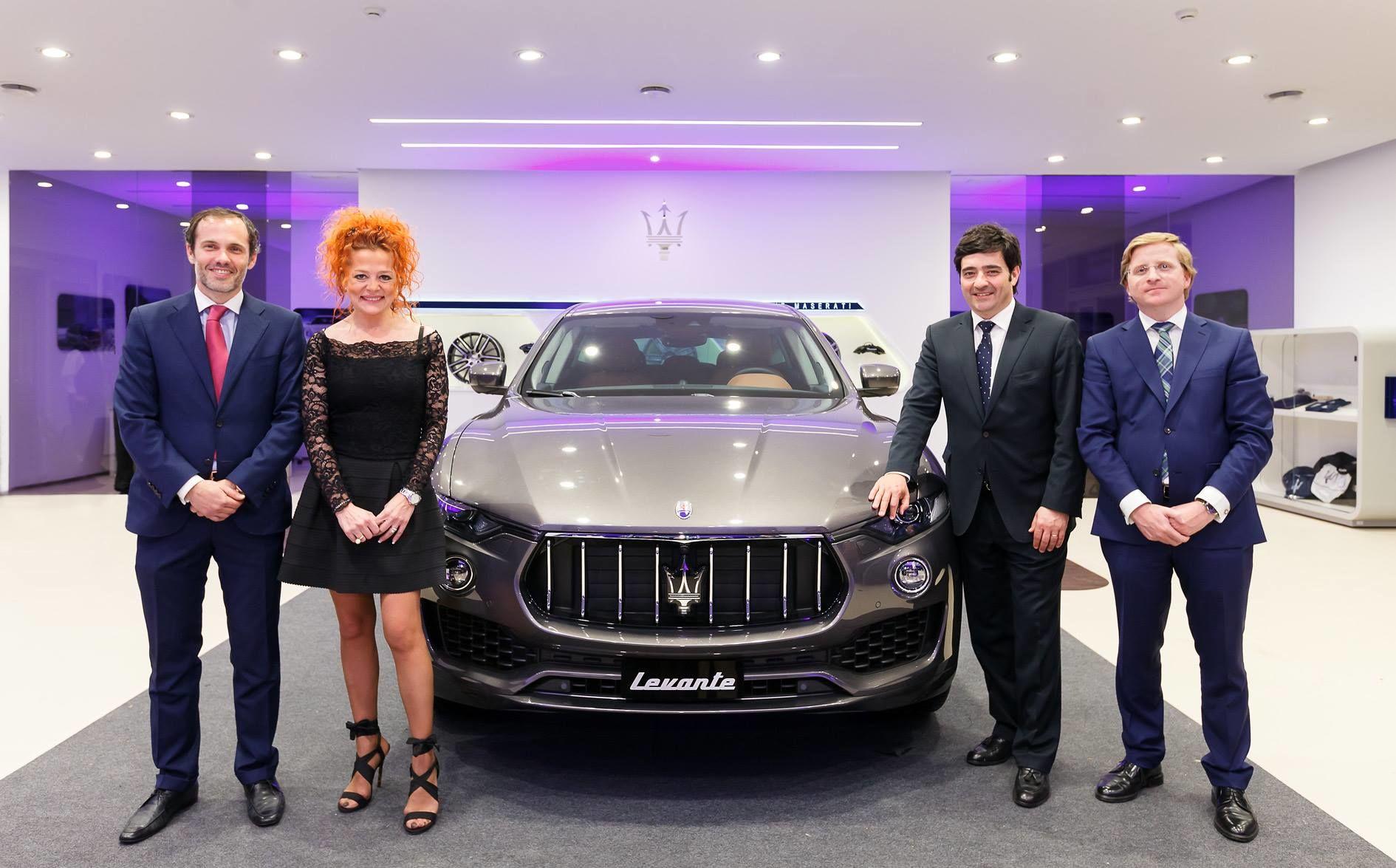 Inauguración de Terry Gallery, nuevo concesionario Maserati en Sevilla y presentación del nuevo Maserati Levante.