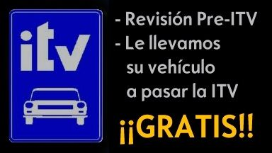 PRE ITV + TRASLADO GRATIS