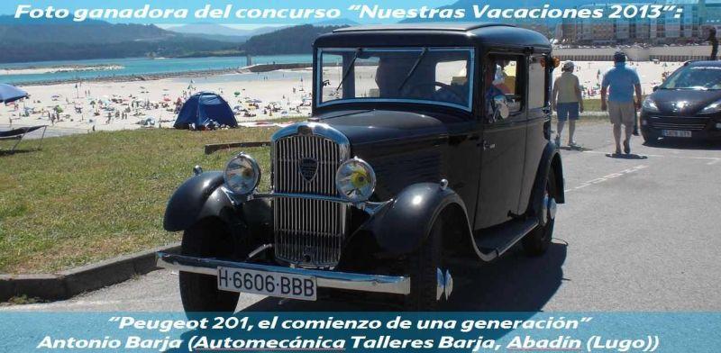 """GANADORES DEL CONCURSO PEUGEOT """"NUESTRAS VACACIONES 2013"""""""