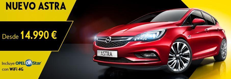 Nuevo Opel Astra Con Onstar  desde 14.990€